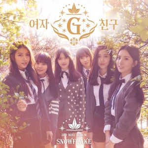 "Album art for G.Friend's album ""Snowflake"""