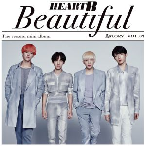 "Album art for HeartB's album ""Beautiful Story (MiStory)"""