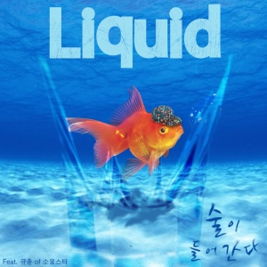 "Album art for Liquid's album ""Into My Drink"""