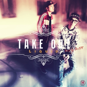 "Album art for Liquid's album ""Take Out"""