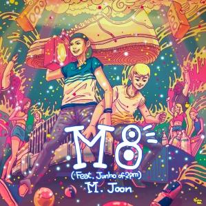 """Album art for M.Joon's album """"M8"""""""