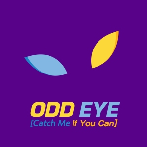 "Album art for ODD EYE's album ""Catch Me If You Can"""