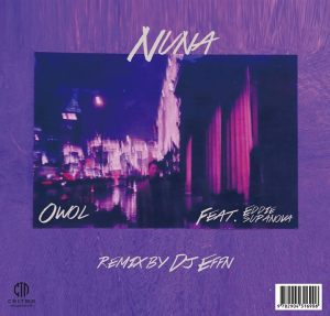 "Album art for Owol's album ""Nuna"""