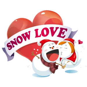 "Album art for Yery Band's album ""Snow Love"""