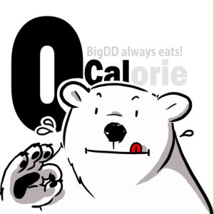 "Album art for BigDD's album ""0 Calorie"""