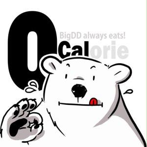 """Album art for BigDD's album """"0 Calorie"""""""