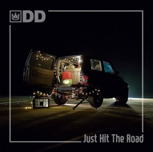 "Album art for BigDD's album ""Just Hit The Road"""