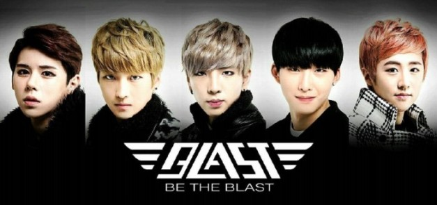 Kpop boy group Blast.