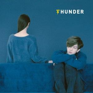 "Album art for Cheondung's album ""Thunder"""