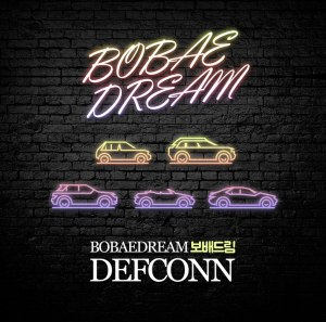 "Album art for Defconn's album ""Bobae Dream"""