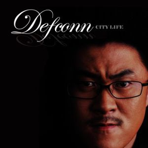 "Album art for Defconn's album ""City Life"""