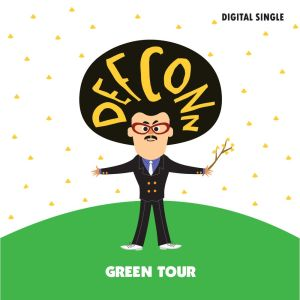 "Album art for Defconn's album ""Green Tour"""