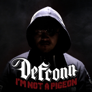 "Album art for Defconn's album ""I'm Not A Pigeon"""