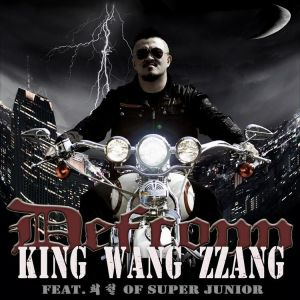 "Album art for Defconn's album ""King Wang Zzang"""