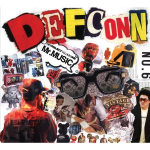 "Album art for Defconn's album ""Mr. Music"""