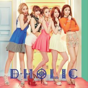 "Album art for D.Holic's album ""Chewy"""