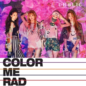 "Album art for D.Holic's album ""Color Me Rad"""