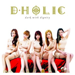 "Album art for D.Holic's album ""Dark With Dignity"""