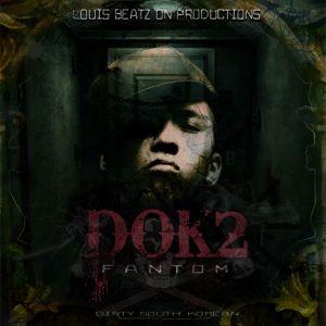 "Album ar for Dok2 / Gonzo's album ""Fantom"""