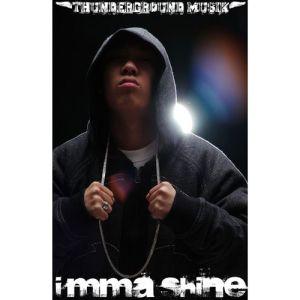 """Album art for Dok2 / Gonzo's album """"I'mma Shine"""""""