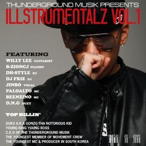 "Album art for Dok2 / Gonzo's album ""Instrumentalz Vol 1"""