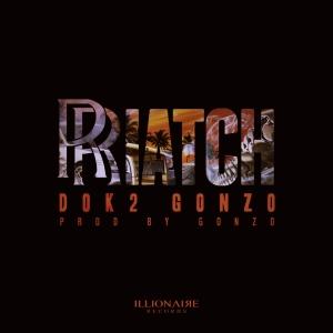 "Album art for Dok2 / Gonzo's album ""Riatch"""