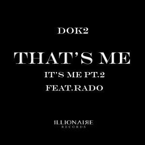 "Album art for Dok2 / Gonzo's album ""That's Me"""