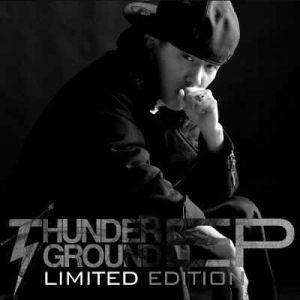 "Album art for Dok2 / Gonzo's album ""Thunderground"""