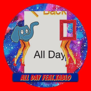 "Albm art for Genius Nochang's album ""All Day"""