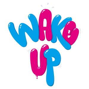 "Album art for Giriboy's album ""Wake Up"""