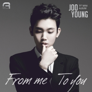 "Album art for Joo Young's album ""From Me To You"""