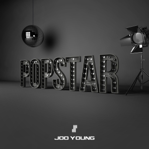 "Album art for Joo Young's album ""Popstar"""