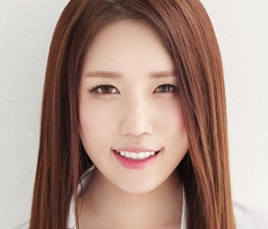 Lovelyz' Jin Repackage promotional picture.