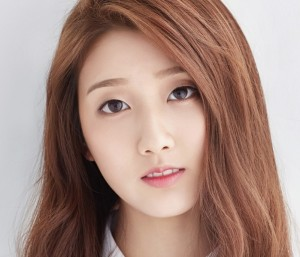 Lovelyz'Yein Repackage promotional picture.