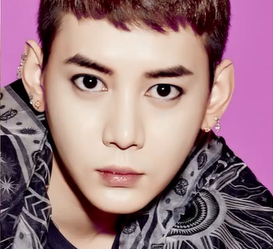 "MYNAME's Gunwoo ""too very so MUCH"" promotional picture."