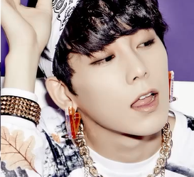 "MYNAME's Chaejin ""too very so MUCH"" promotional picture."