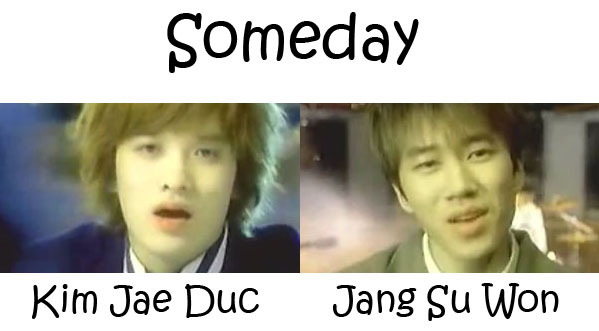 "The members of J-Walk i the ""Someday"" MV"