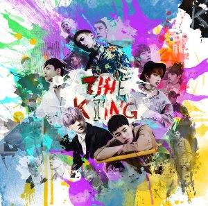 """Album art for The King's album """"Look Back"""""""