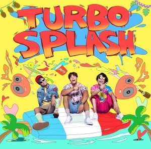 "Album art for Turbo's album ""Turbo Splash"""