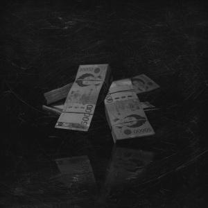 """Album art for Vasco's album """"All Black"""""""