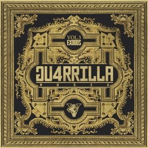 """Album art for Vasco's album """"Guerilla Muzik Vol 3 Exodus"""""""