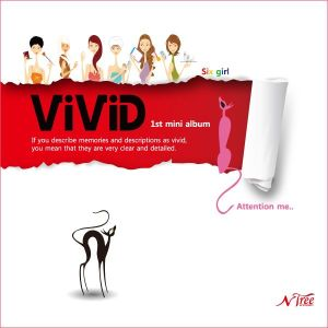 "Album art for Vivid's album ""Attention Me"""