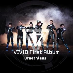 "Album art for Vivid's album ""Breathless"""