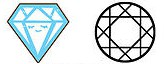 Vividiva's Sara's sapphire symbol
