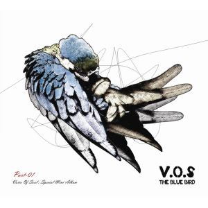 "Album art for V.O.S's album ""The Blue Bird"""