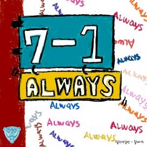 "Album art for Year 7 Class 1's album ""Always"""