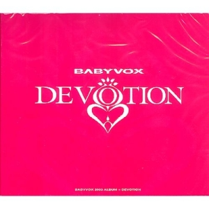 "Album art for Baby V.O.X's album ""Devotion"""
