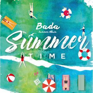 """Album art for Bada's album """"Summer Time"""""""