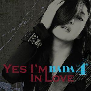"""Album art for Bada's album """"Yes I'm In Love"""""""