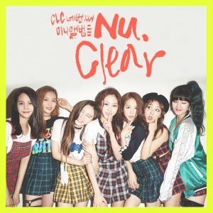 "Album art for CLC's album ""Nu.Clear"""